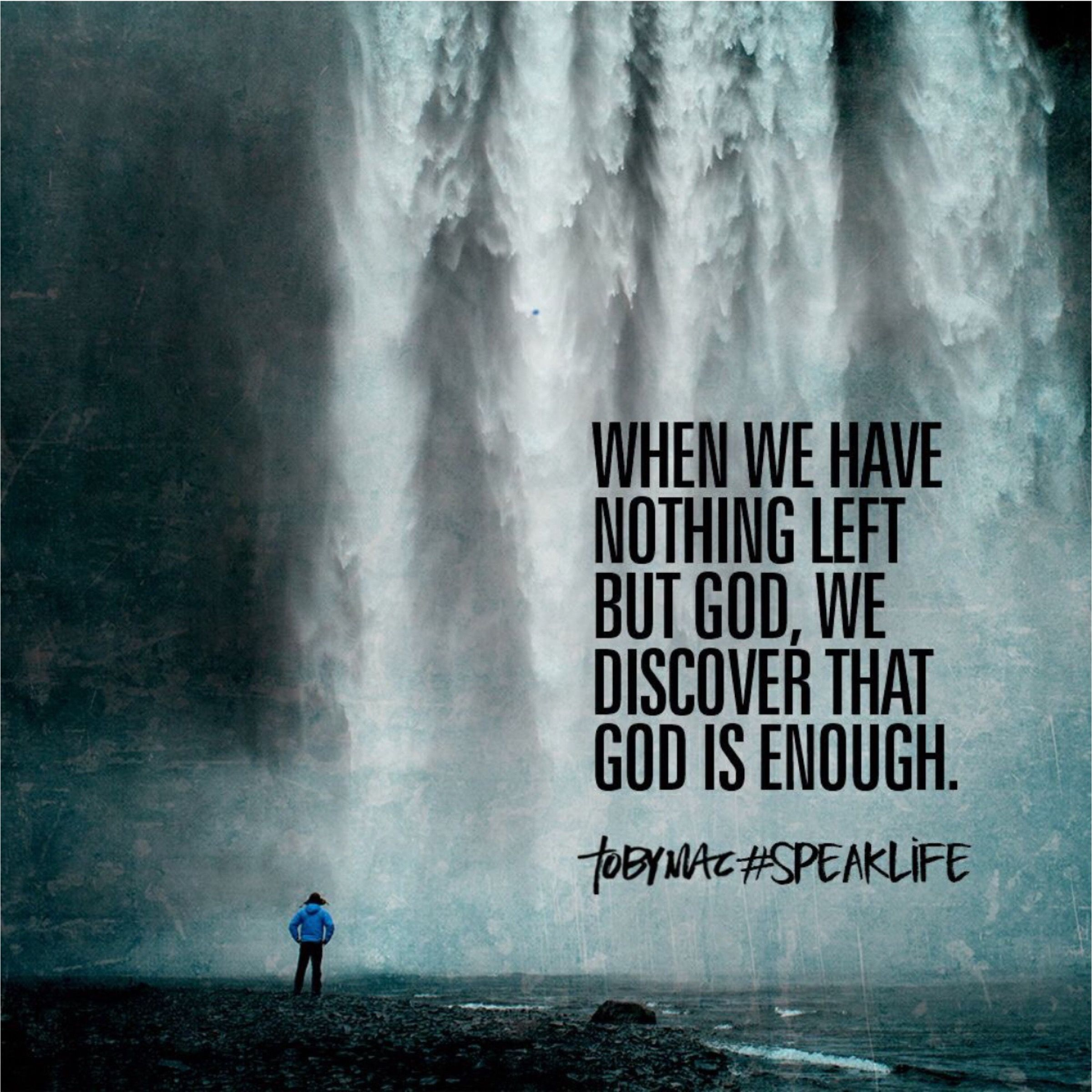 Pin On Toby Mac #SpeakLife Quotes