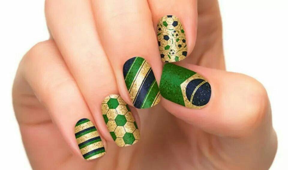 Brazil New Found Love Nails Pinterest Nice
