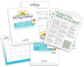 100 Days Challenge - Weight Loss Challenge Journal free downloads.