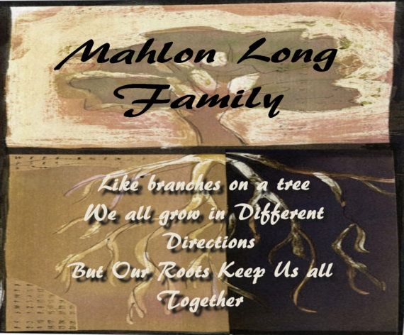 Personalize Family Tree Quote by Collectivekayos on Etsy