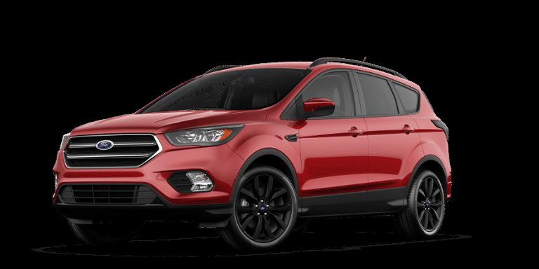 Elegant 2017 ford Escape Red