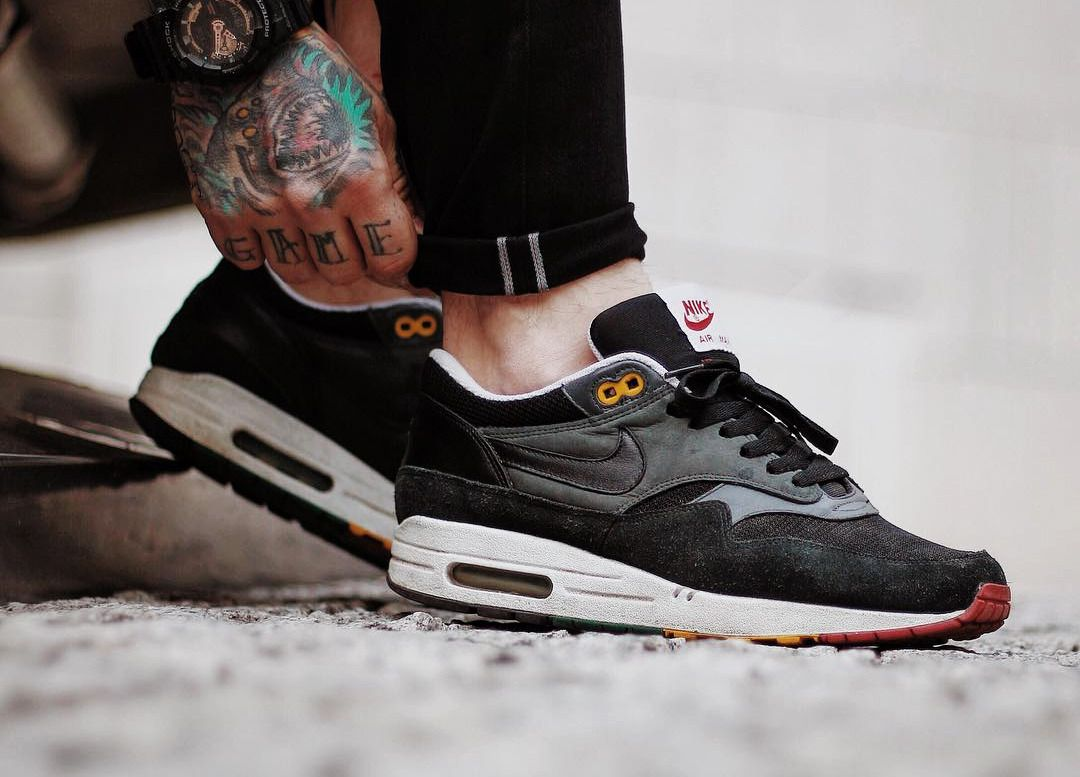 5f509f8dc6 Nike Air Max 1 'Rasta' - 2006 by maxbeardless Launch your own makeup line.  #viaGlamour