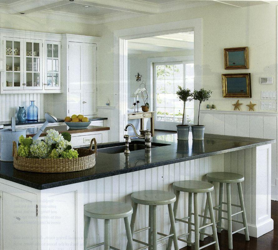 Best Casual Coastal Beadboard Kitchen Kitchen Inspirations 400 x 300