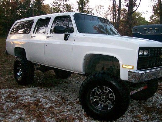 Custom Chevy Suburban 1990 Chevrolet Suburban Custom Off Road