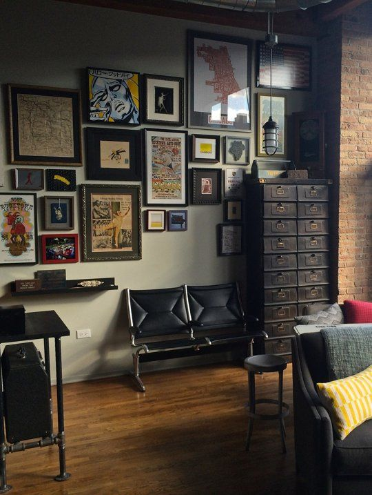 Andy S Vintage Industrial Timber Loft A Mixture Pinterest Haus
