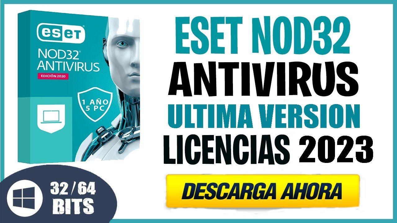 Eset Nod32 Antivirus Licencia 2020 2023 Eset Internet Security Youtube Internet Security Internet