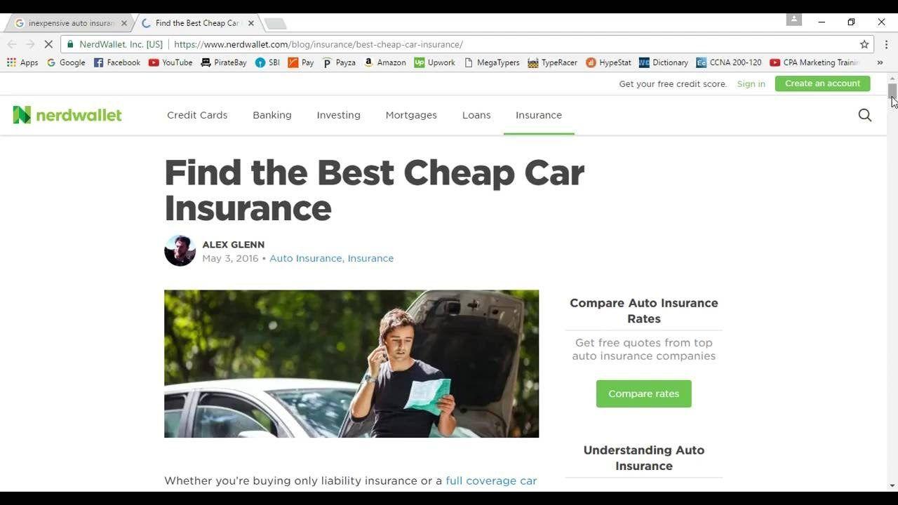 53 inexpensive auto insurance part 2 car insurance best
