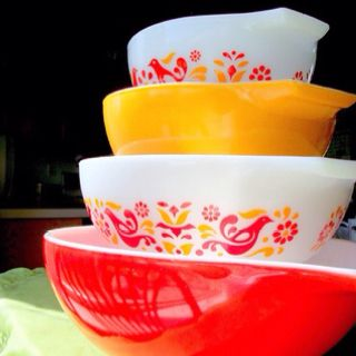 Friendship Pyrex Cinderella Bowls ..because they made Explore :B ...