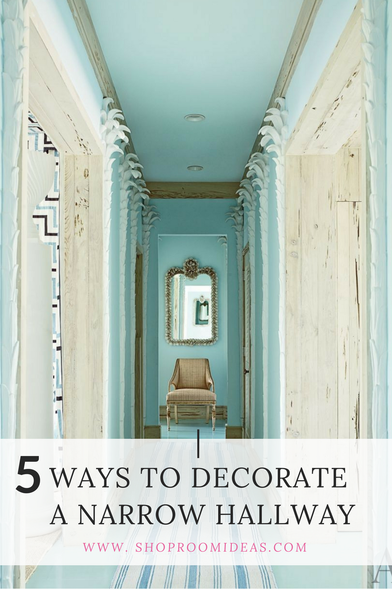 Elegant Long Narrow Hallway Entrance Decorating Design Ideas