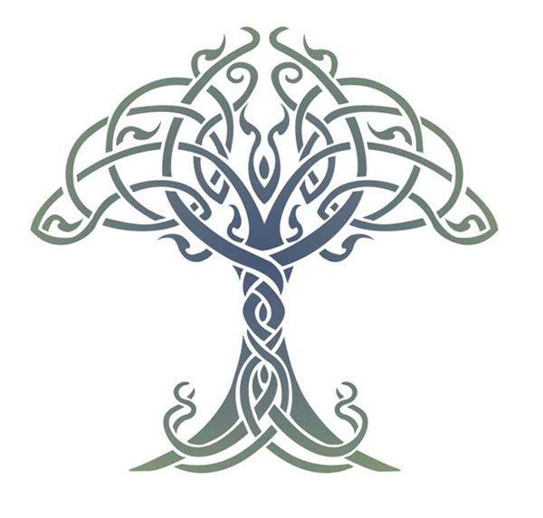 celtic tree of life stencil designs from stencil kingdom celtic artworks pattern pinterest. Black Bedroom Furniture Sets. Home Design Ideas