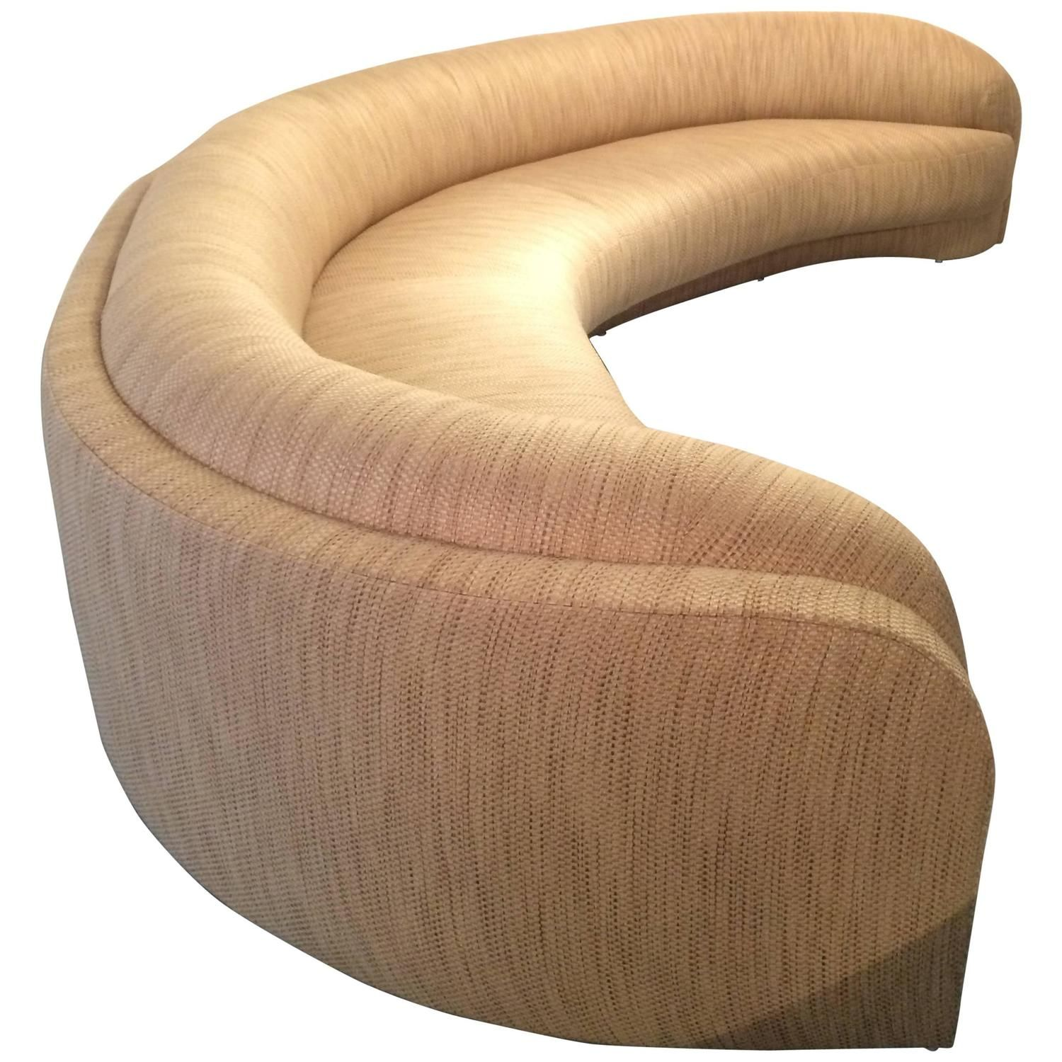 Amazing Sculpted Custom Made Sofa by Steve Chase