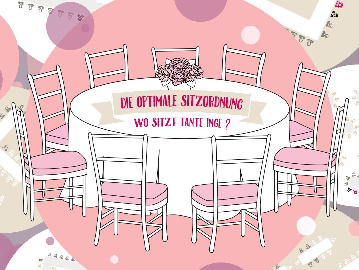 Die optimale Sitzordnung für eine Hochzeit Hochzeit