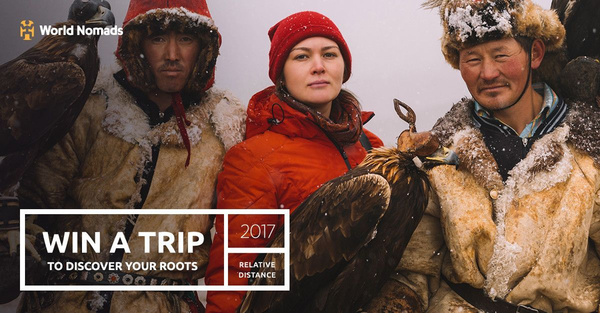 WIN A TRIP FOR 2 to travel across generations, explore your roots, and discover your story. Enter now: http://bit.ly/2oyltoX  #ThisIsAdventure #Contest #TravelContest #Win #WinATrip #EnterToWin #Competition #AdventureTravel #Culture #Roots #Heritage #TravelForFree #Motherland #MotherlandTrip⠀ ⠀⠀⠀ © World Nomads