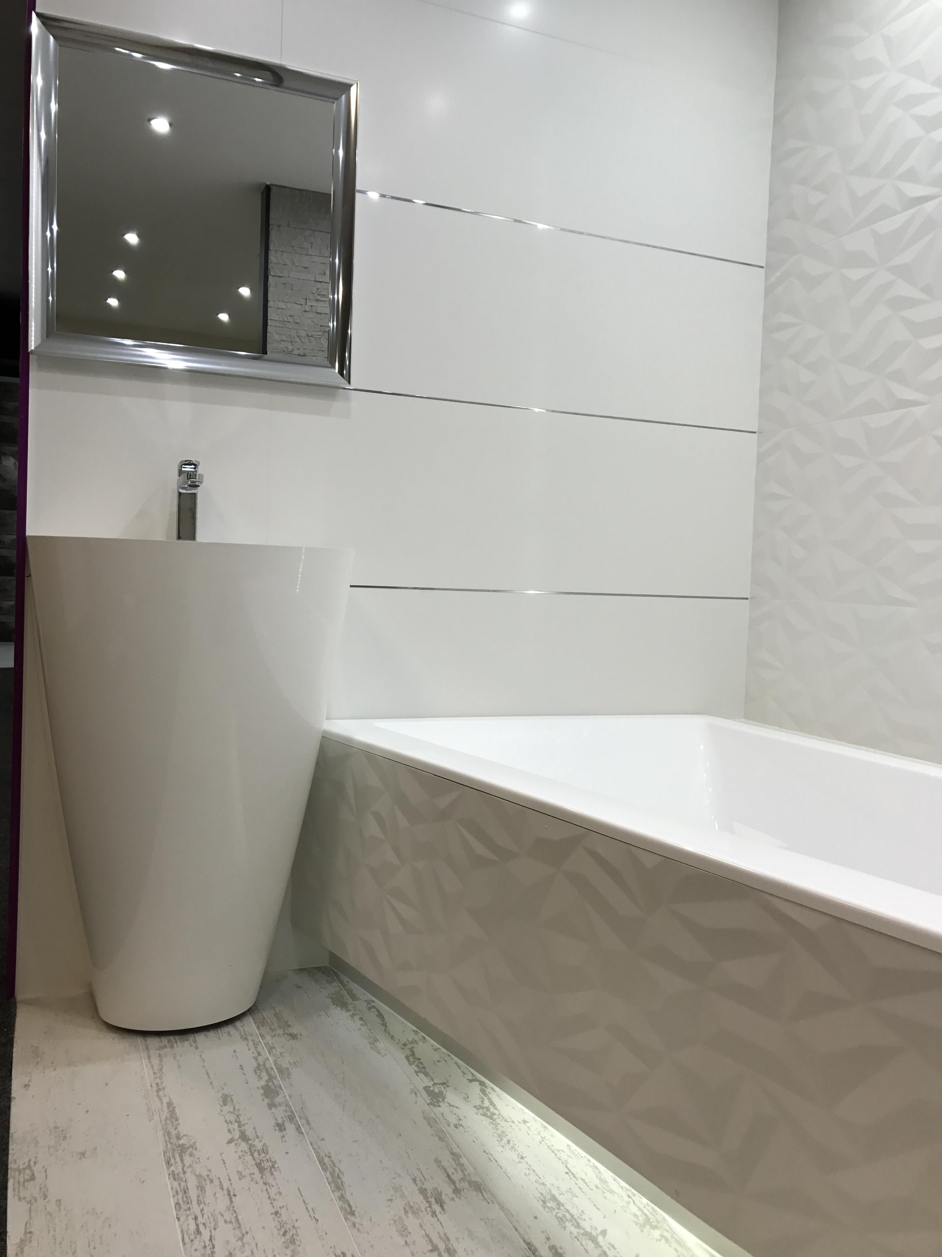 Biała Mała łazienka Azario Baño Bathroom Bathroom
