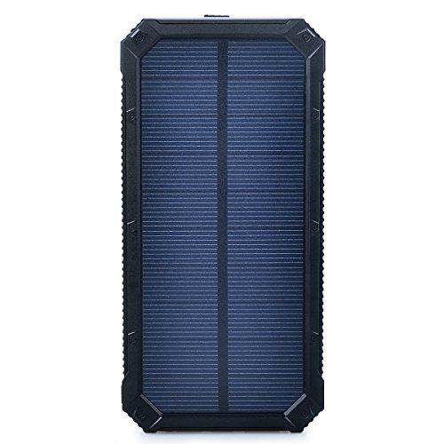 Aedon A3 15000mAh USB dual del cargador del teléfono banco de la energía cargador de batería solar con luces LED de emergencia(negro) - http://cargadorespara.com/comprar/solares/aedon-a3-15000mah-usb-dual-del-cargador-del-telefono-banco-de-la-energia-cargador-de-bateria-solar-con-luces-led-de-emergencianegro/