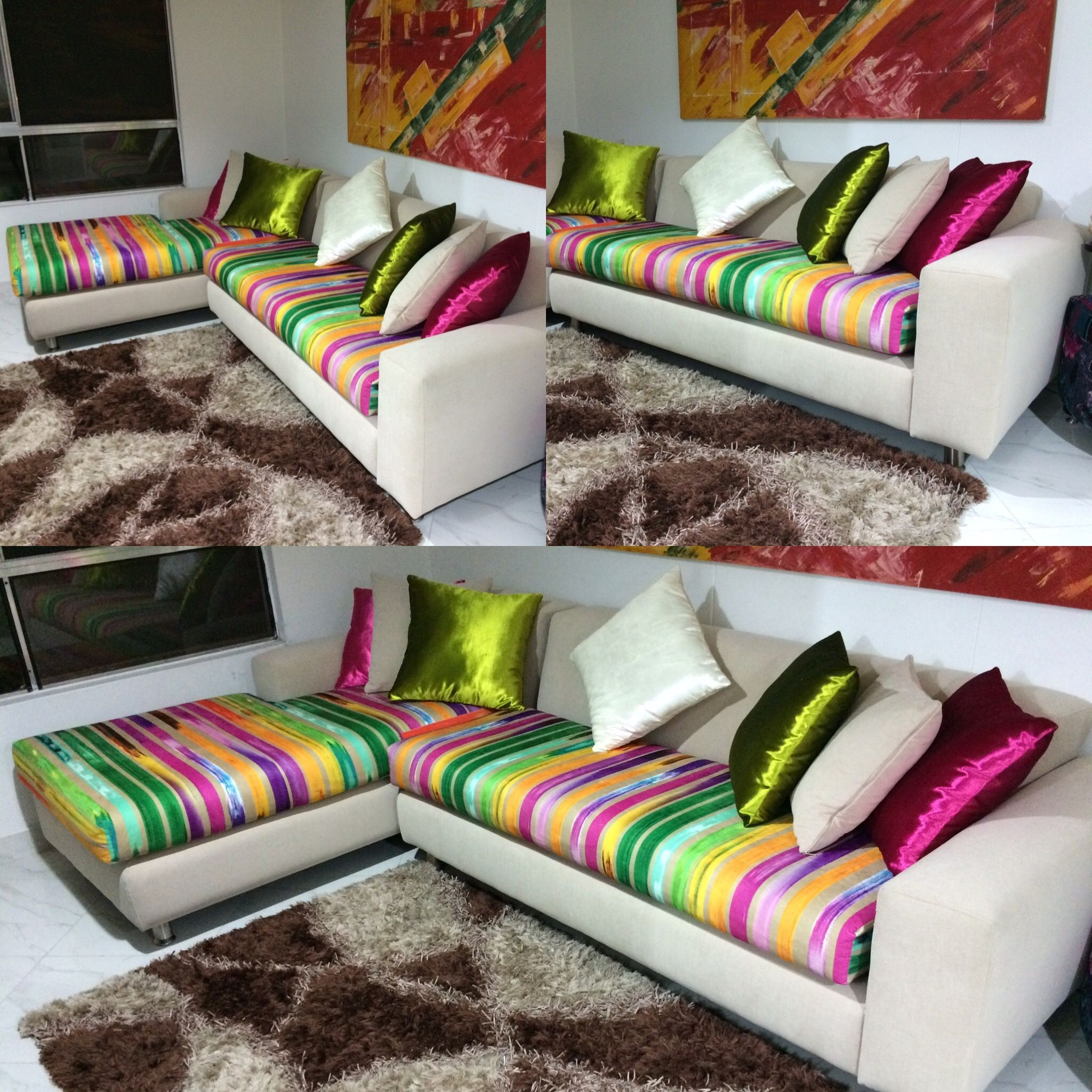 Sofá colores