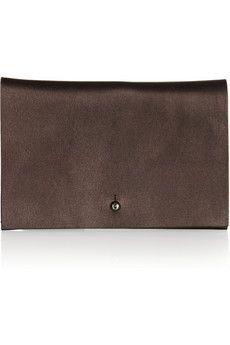 Rick Owensmetallic leather wallet