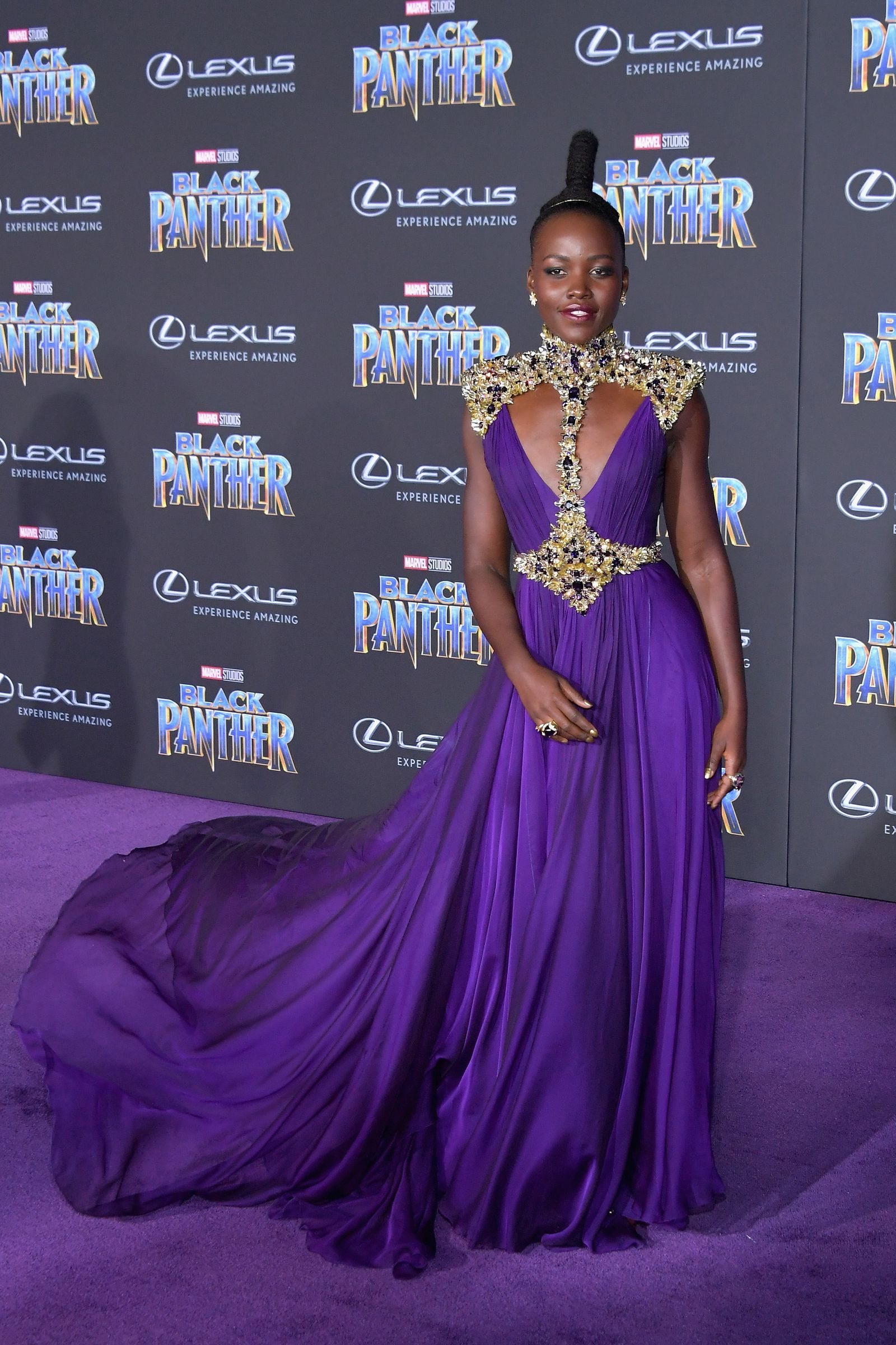 Everyone At The Black Panther Premiere Looked Like Royalty