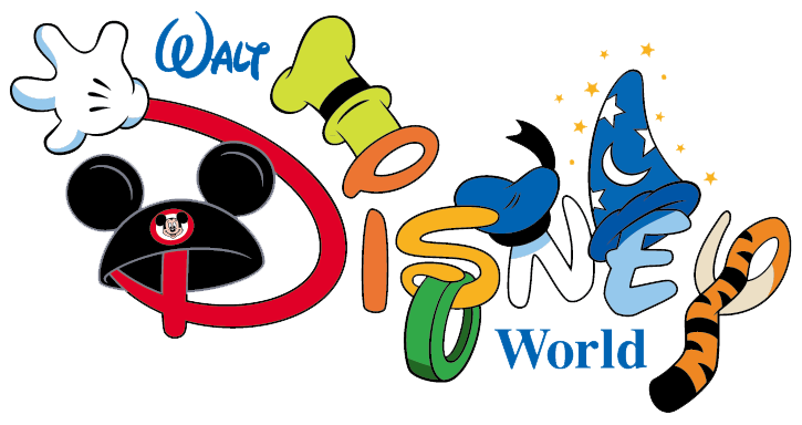 Identifies All Attractions In Disney World And Tons Of Clip Art