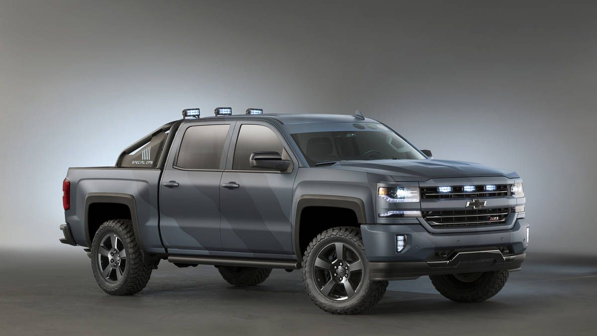 2016 chevrolet chevy silverado spec ops spec ops battleship limited production
