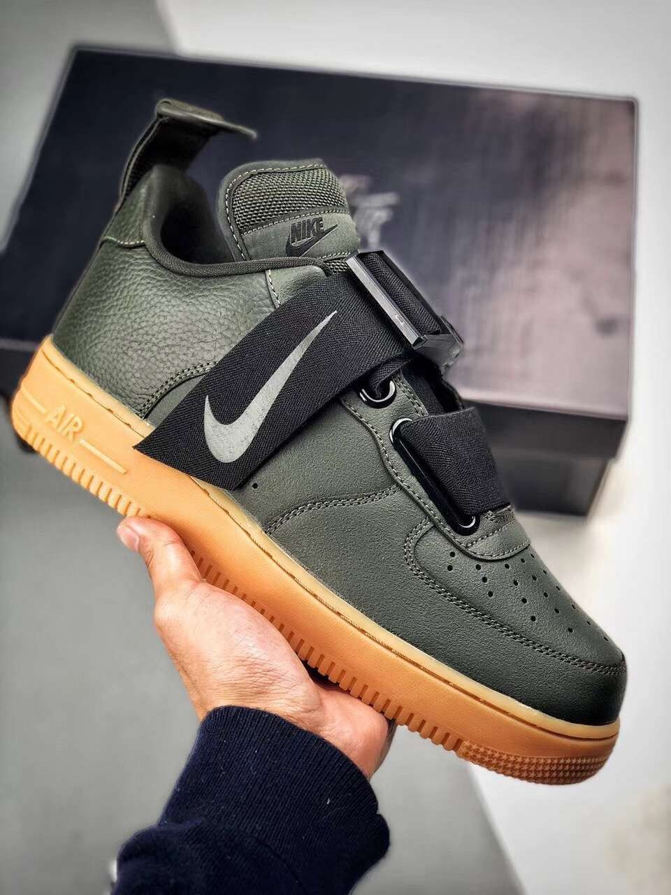 Nike Air Force 1 Utility Qs Ao1531 300 With Images