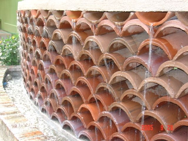 Image Result For Ideas To Reuse Terracotta Roof Tiles Roof Tiles Terracotta Roof Tiles Terracotta Tiles