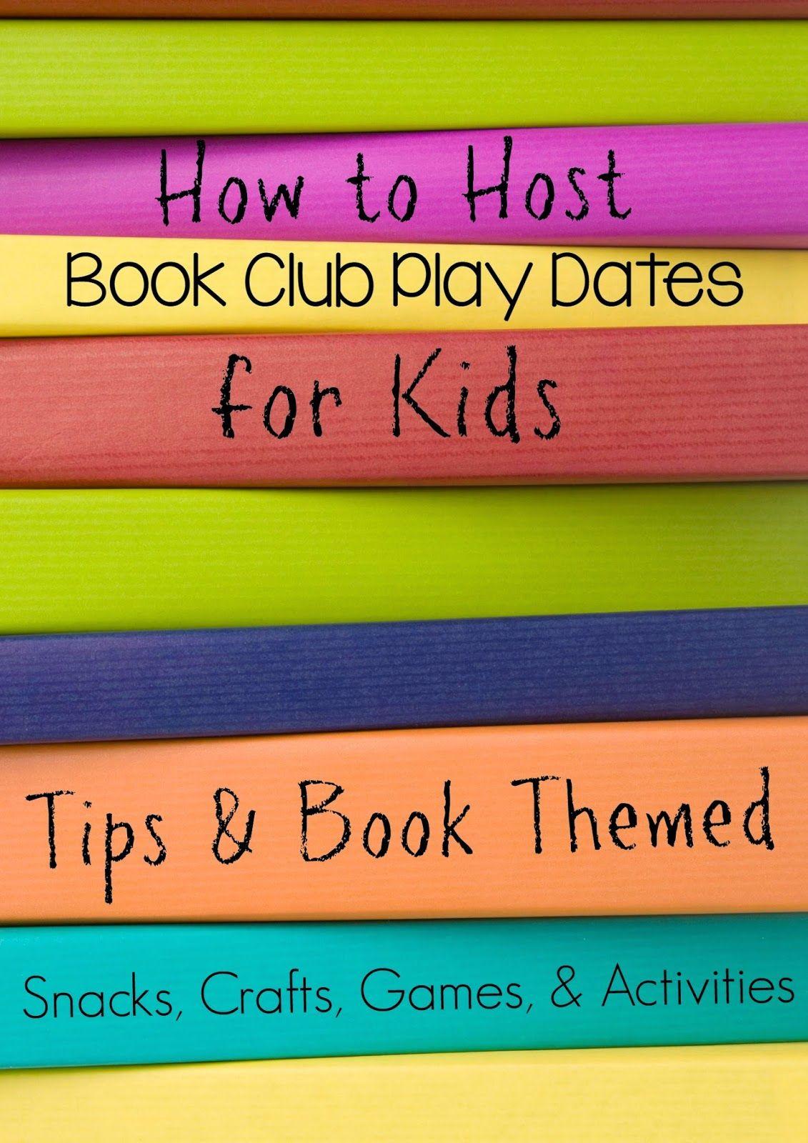 Kids Book Club Ideas