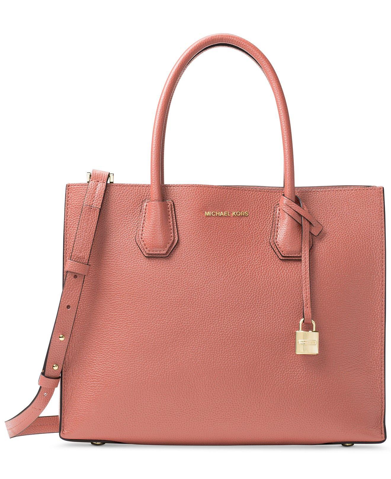 8d11175291 MICHAEL Michael Kors Studio Mercer Large Convertible Tote - Handbags    Accessories - Macy s