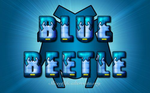 Blue Beetle - Ted Kord version (Justice League) Wallpaper
