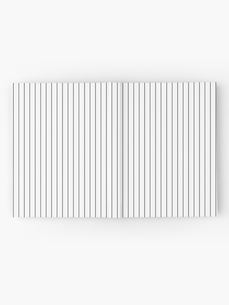 Vertical Black Stripes Thin Parallel Lines Pattern Hardcover Journal By Kallyfactory In 2020 Line Patterns Stripes Black Stripes