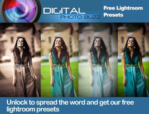 Digital Photography Buzz:  Free Lightroom Presets