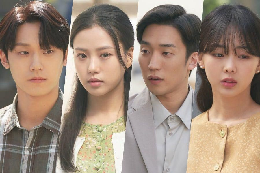 """Lee Do Hyun, Go Min Si, Lee Sang Yi, And Geum Sae Rok Have A Tense Chance Encounter In """"Youth Of May"""""""
