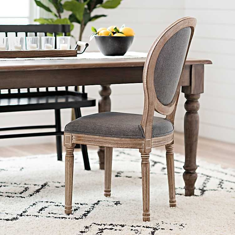 32 Stylish Dining Room Ideas To Impress Your Dinner Guests: Warm Gray Louis Dining Chair In 2020