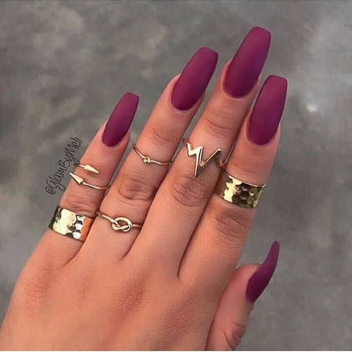 27 The Best Nail Art Collection From The Fall 2018 My Style