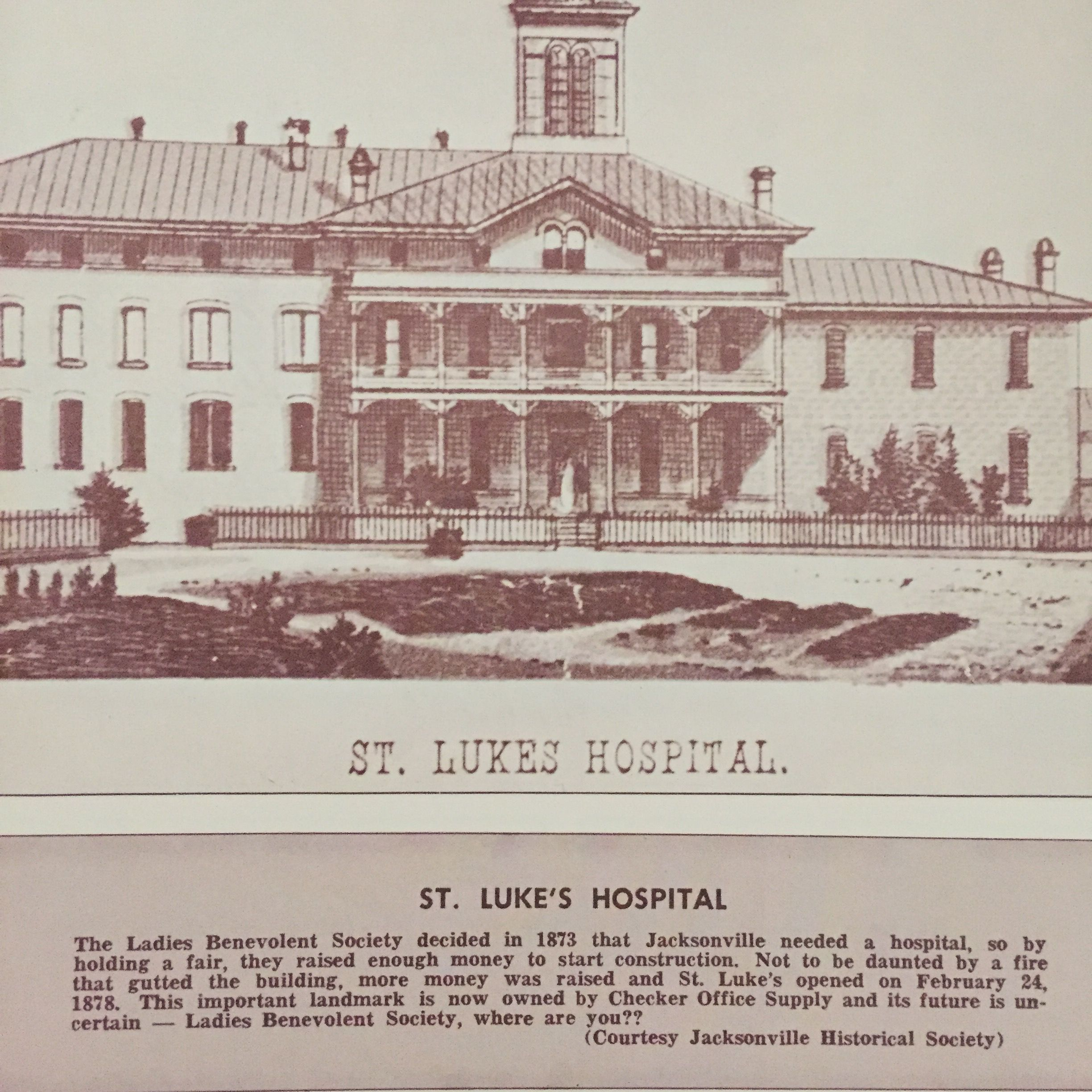 The center part of the old St Luke s hospital now houses the