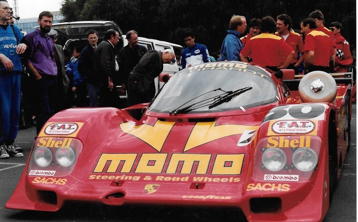 PORSCHE 962 MOMO GUNTHER GEBHARDT 962C PHOTOGRAPH FOTO LE MANS 1990 NICK ADAMS | eBay