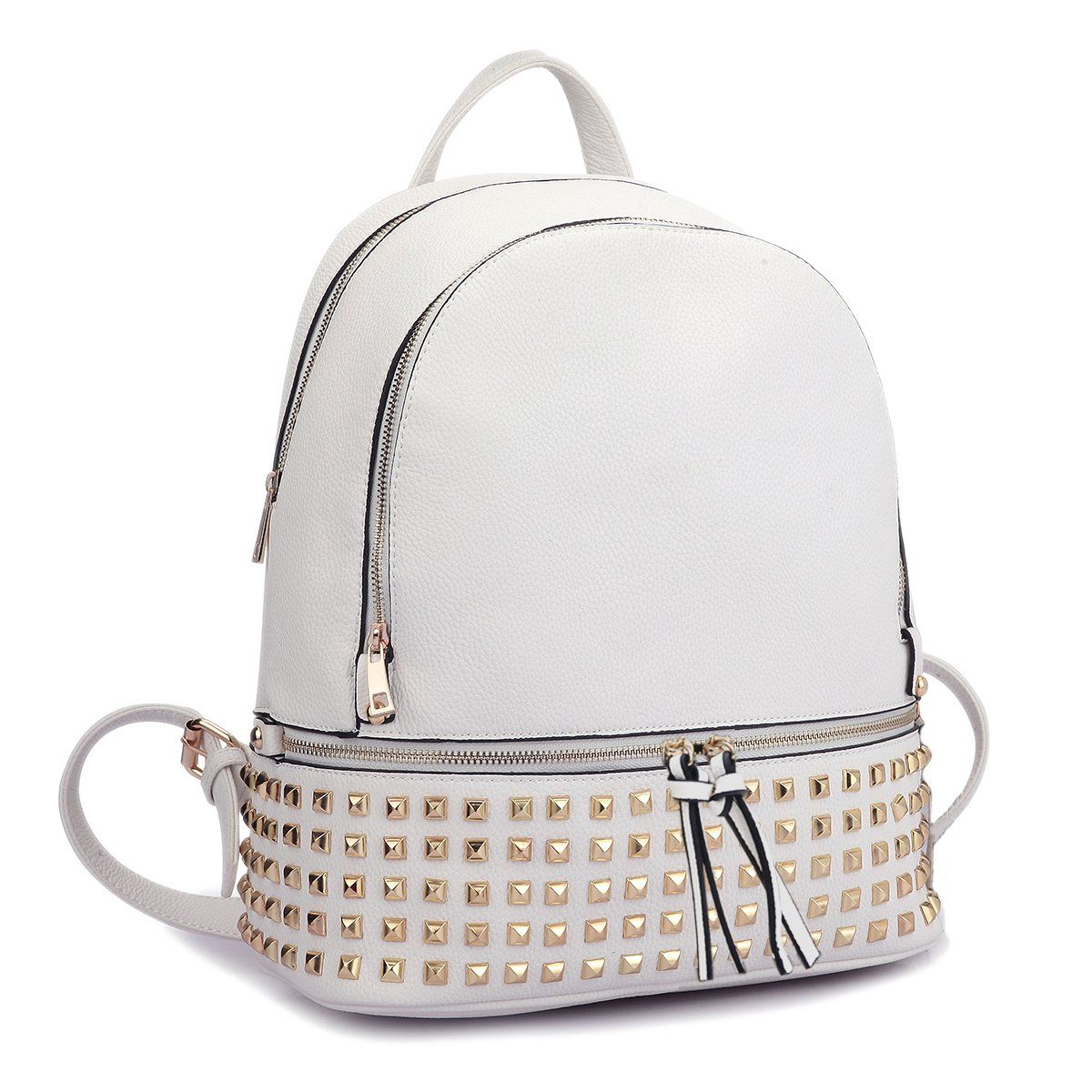 Dasein Casual Backpack Purse School Bag Vegan Leather Shoulder Bag Designer  Daypack Tote for Womens   abecf68cf5
