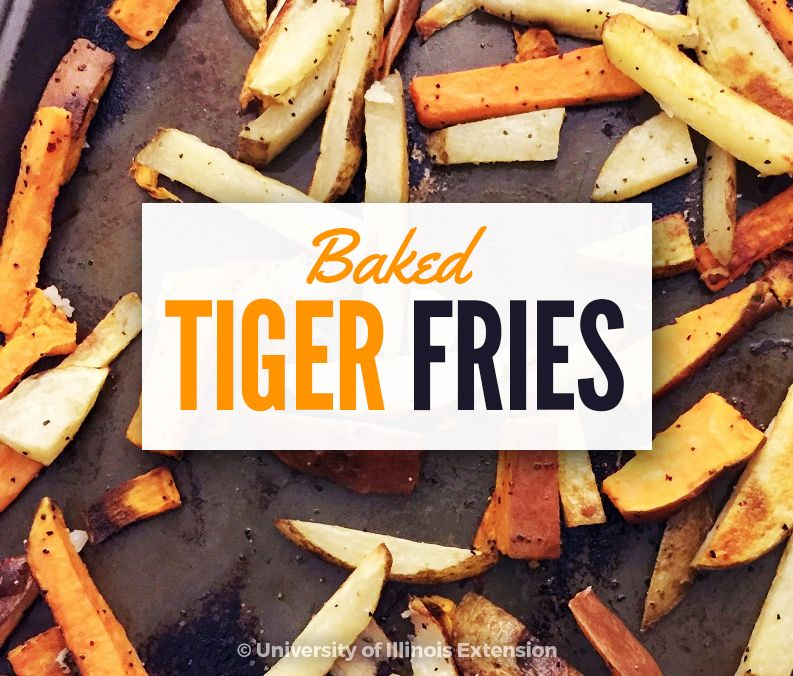baked tiger fries recipe