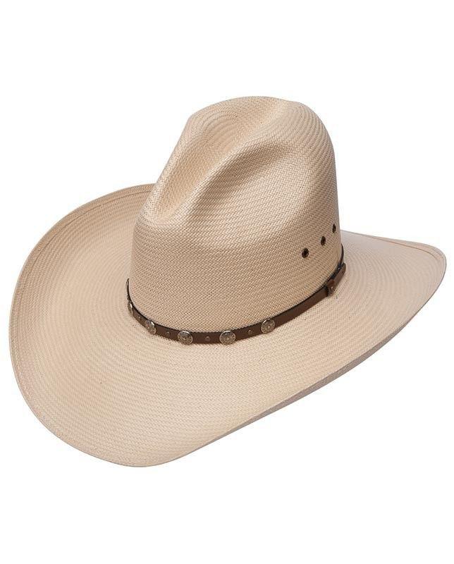 aa6a1382915 Stetson Cody 10X Straw Cowboy Hat www.eliswesternwear.com