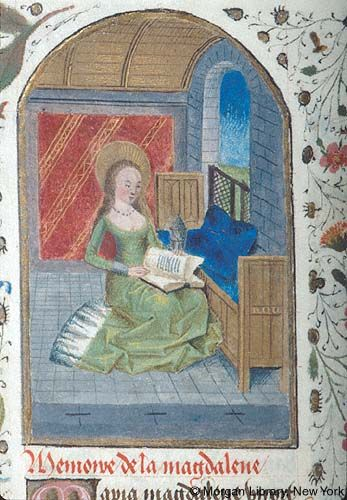 Medieval Manuscript Images, Pierpont Morgan Library, Book of hours (MS M.194). MS M.194 fol. 155v