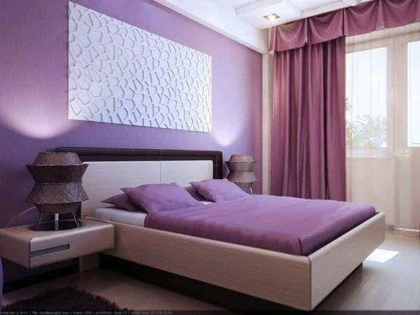 Romantic Purple Master Bedroom Ideas Bed Room Design Romantic