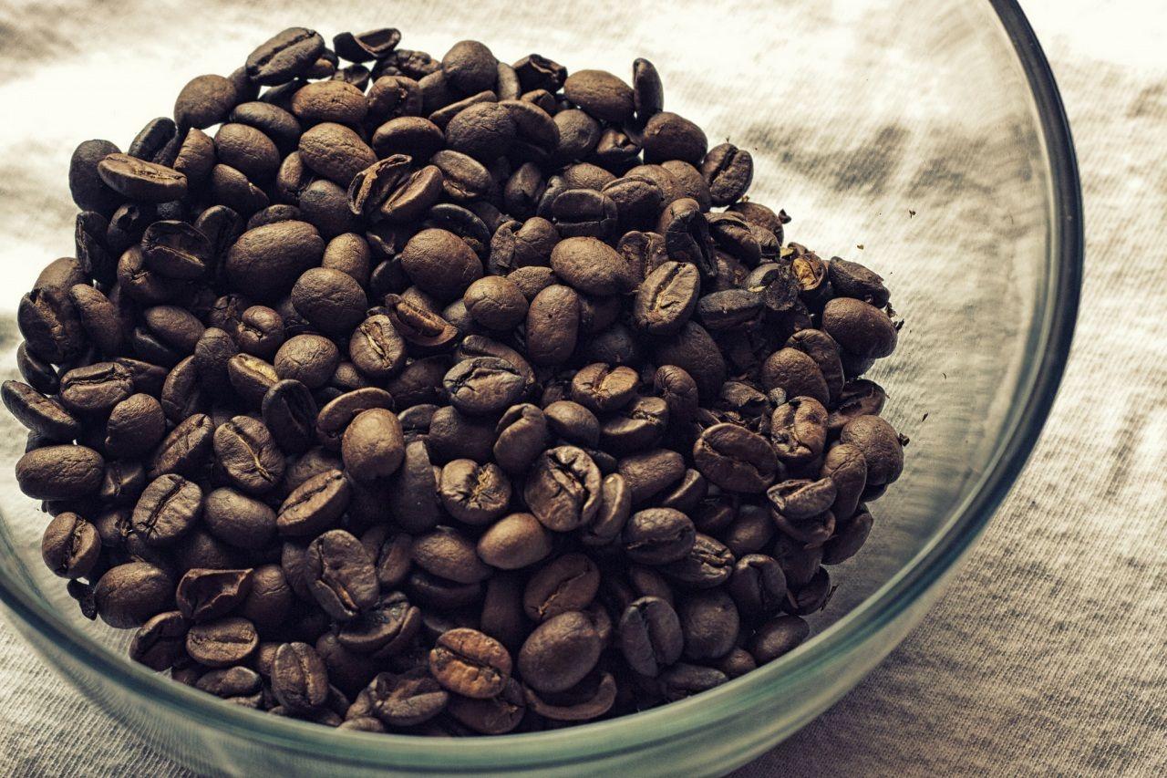 Кофе Зерна Еда