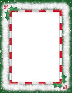 Free Printable Page Borders Free Downloadable Templates Christmas Letter Template Free Christmas Letter Template Free Christmas Borders