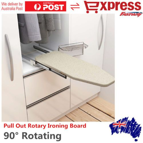 Pullout Ironing Board Plate Folding Drawer Cabinet Sliding