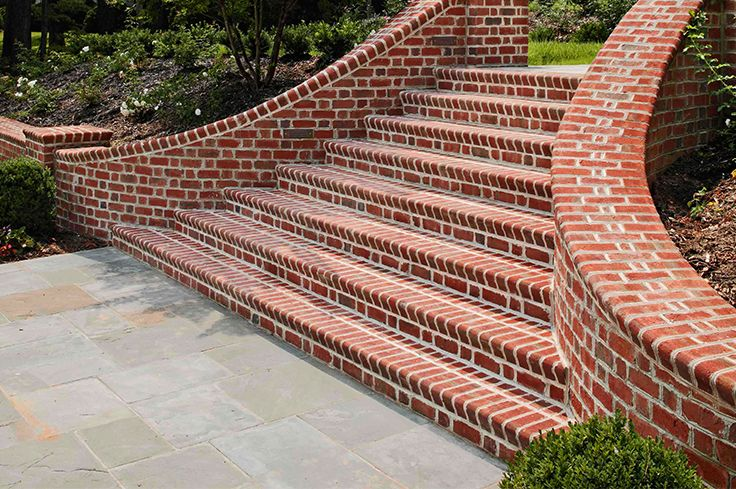 Best Make A Grand Entrance With A Beautiful Brick Staircase 400 x 300