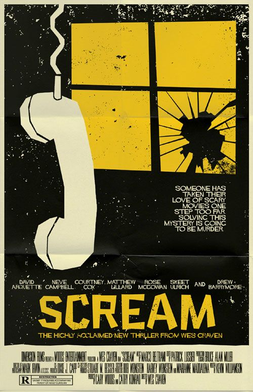 an analysis of the movie scream by wes craven All while that instantly recognizable theme music played in the  by being self- referential, wes craven's film takes postmodern theory and.