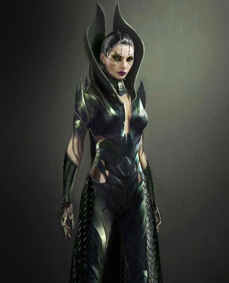 Rita Repulsa Concept Art Concept Art Characters Sci Fi Concept Art Concept Art