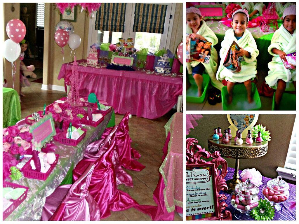 Kids And Childrens Spa Parties Houston Girls Spa Birthday