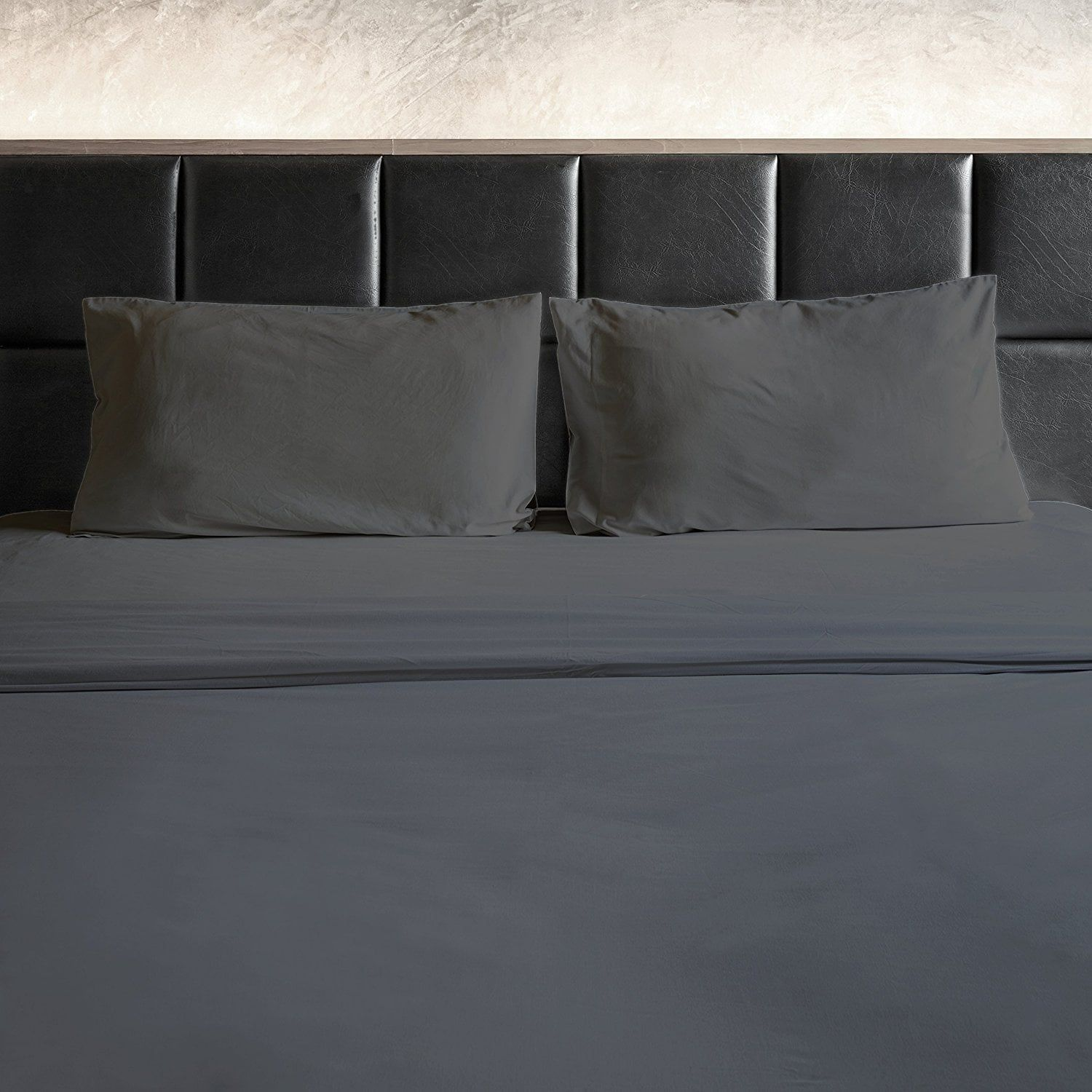 1800 Thread Count Egyptian Cotton Feel 4 Piece Bed Sheet Set 12