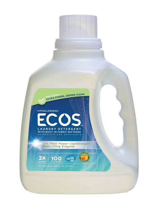 ECOS™ Hypoallergenic Laundry Detergent with Enzymes, Honeydew